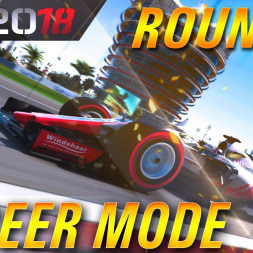 F1 2018 Career Mode Round 2 Bahrain Grand Prix