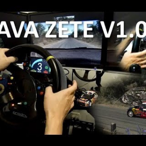 Glava Zete v1.0, WRC push--pull paddle, steering column stalk, DashPanel - Assetto Corsa