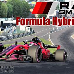 RSS Formula Hybrid 2018 (Halo) HOTLAP at Spa - Assetto Corsa (Mod Download)