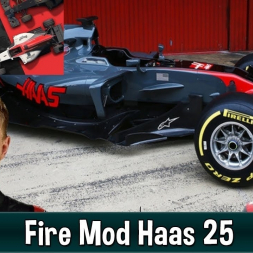 Motorsport Manager Fire Mod - Haas F1 The American Dream 25