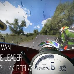TT Isle of Man:  Follow The Leader - No HUD Lap - 4K Replay