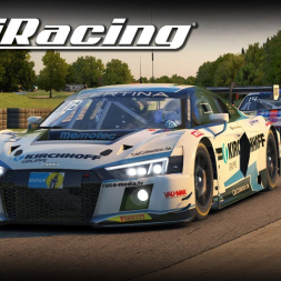 iRacing - VRS Sprint Series - Audi R8 GT3 at Summit Point (PT-BR)
