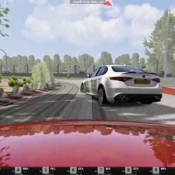AI on procedural racetrack 'Wijchen'