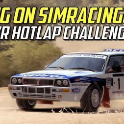 Taking on SimRacingGirl 's  Dirt Rally VR Hotlap Challenge