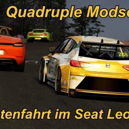 Quadruple Modschleife im Seat Leon TCR - Assetto Corsa (1.16.3) - Mini Let's Play