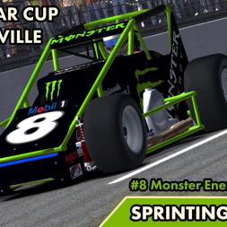 """iRacing: Sprinting Again!"" (Sprint Cars at Martinsville)"