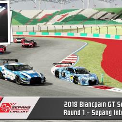 Blancpain GT Series Asia Round 1 - Sepang