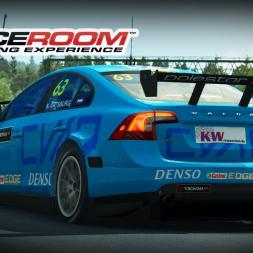 RACEROOM WTCC VOLVO S60 POLESTAR at HUNGARORING (PT-BR)