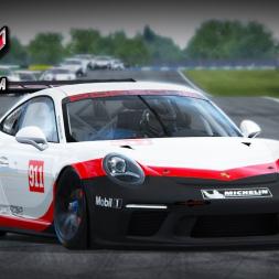 Assetto Corsa Porsche 911 GT3 Cup at Donington Park (PT-BR)