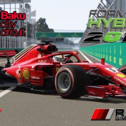 Assetto Corsa * F1 2018   Formula Hybrid 1:39:1 SS Baku, Azerbaijan GP FP1 [download]