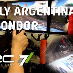 WRC 7 - Rally Argentina - Los Gigantes - Cantera El Condor - Hyundai i20
