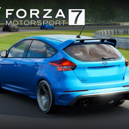 FORZA 7 - FORD FOCUS RS at LIME ROCK PARK (PT-BR)