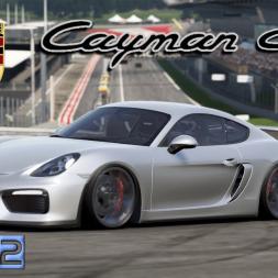 Project Cars 2 * 2016 Porsche Cayman GT4 [mod download]