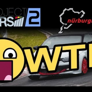 Nordschleife - Renault Mégane RS 275 [vidéo VR - Project Cars 2]