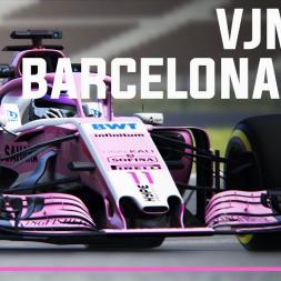 VJM11 | Barcelona lap + Download link