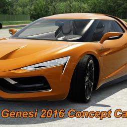 Model 5 Genesi 2016 Concept Car - Assetto Corsa (1.16.3) - Let's Play