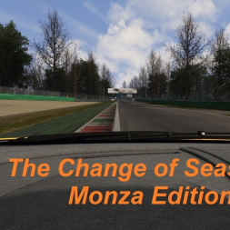 The Change of Seasons at Monza GP (onboard) - Assetto Corsa (1.15.2)