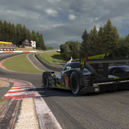 iRacing Hot lap   Audi R18 @ Spa Francorchamps 1:53.9xx