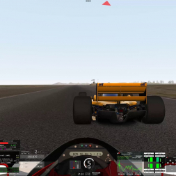 Feels like a fish in the water - Lotus 98T Quick race @ Buttonwillow (AC track mod)