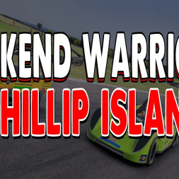 iRacing Weekend Warrior SRF League Race - Round 8 at Phillip Island