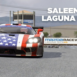 Saleen S7-R / Laguna Seca / Assetto Corsa / Cockpit + Replay