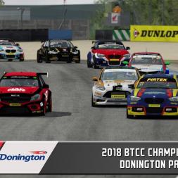 BTCC 2018 Donington Park