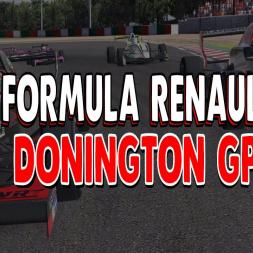 iRacing Formula Renault at Donington GP - 4k SOF