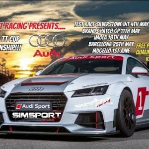 Simsport-Racing.com Audi TT Cup Championship - Rd 1 Brands Hatch