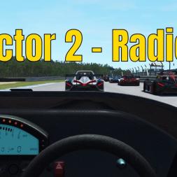 rFactor 2 - Radical SR3-RSX @ Atlanta Motorsport Park