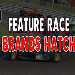 AOR Formula Renault Feature Race at Brands Hatch GP