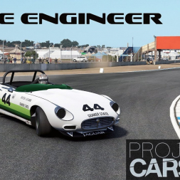 Project CARS 2: Using the Race Engineer to setup an E-Type Jag!