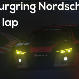 Assetto Corsa | Nurburgring Nordschleife nigth - Audi r8 LMS Ultra