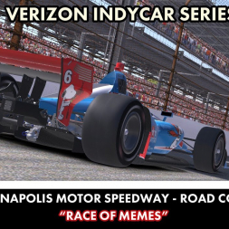 """""""iRacing: Race of Memes (IR18 at Indianapolis Road Course)"""
