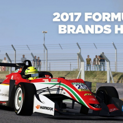 2017 Formula 3 / Brands Hatch / Assetto Corsa / Cockpit + Replay