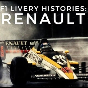 F1 Livery Histories: RENAULT