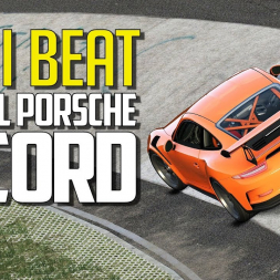 CAN I BEAT the official Porsche 911 GT3 RS record at Nordschleife?