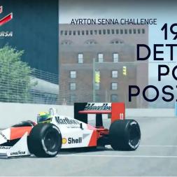 Assetto Corsa - Ayrton Senna 1988 Detroit Pole Position Challenge