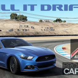 Assetto Corsa vs Project CARS 2: Ford Mustang DRIFT comparison!