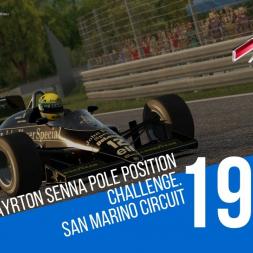 Assetto Corsa - 1986 Lotus 98t San Marino Senna Pole Position Challenge