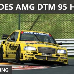 RaceRoom - Mercedes AMG DTM 95 at Hungaroring - 1:44.014