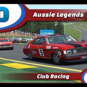 Aussie Legends at Road Atlanta on RFactor 2