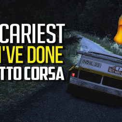 Night Rally is the SCARIEST THING I've done in Assetto Corsa