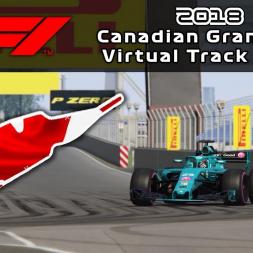 F1 2018 Canadian Grand Prix | Virtual Track Guide | Montreal, Canada | ACFL 2018