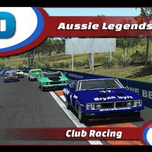 RaceDepartment Aussie Legends @ Bathurst rfactor2 Oculus VR