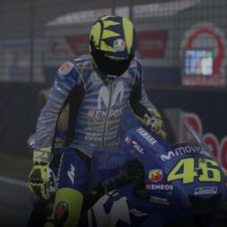 MotoGP 18 Gameplay - JEREZ Rain @Andrea Iannone