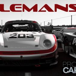 Project CARS 2: Porsche 961 AI Race at Classic LeMans!
