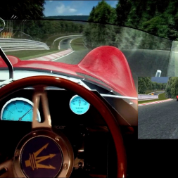 AMS - Nordschleife VLN - Maserati Type 61 Cobra - 100% AI race