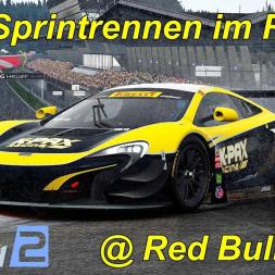 GT3-Sprintrennen auf dem Red Bull Ring im starken Regen - Project CARS 2 - Mini Let's Play