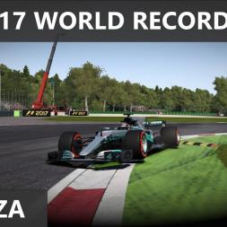 F1 2017 - World Record at Monza - 1:19.361
