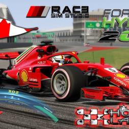 Assetto Corsa * Formula Hybrid 2018 * CANADA GP 2018 * Hotlap + setup [1:11:022]